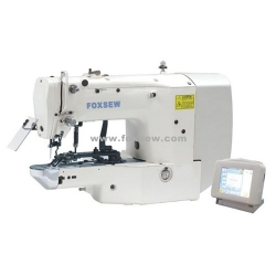 Electronic Button Attaching Sewing Machine