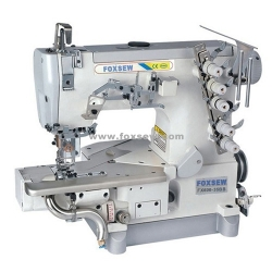 Cylinder Bed Interlock Sewing Machine for Hemming Sewing with Trimmer