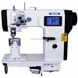 Double Needle Automatic Post Bed Sewing Machine