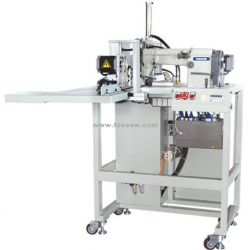 Automatic Jeans Pocket Hemming Machine