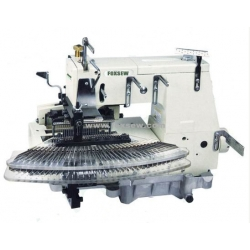 25 or 33 Needle Flat-bed Double Chain Stitch Sewing Machine (tuck fabric seaming)