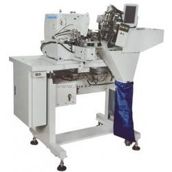 Double Needle Automatic Beltloop Setter Sewing Unit