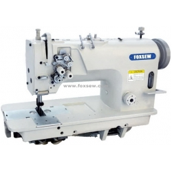 High Speed Fixed Needle Bar Double Needle Lockstitch Sewing Machine