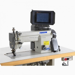 Integrated Sewing Unit for Programmed Sleeve Setting