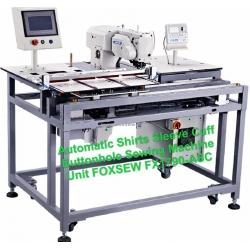 Automatic Shirt Cuff Buttonholing Sewing Machine