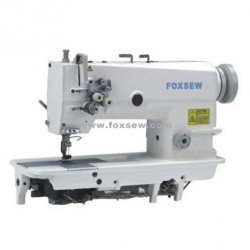 Fixed Needle Bar Double Needle Lockstitch Sewing Machine