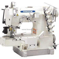 Cylinder Bed Interlock Sewing Machine with Rear Puller