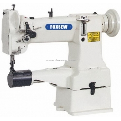 Single Needle Cylinder Bed Compound Feed Lockstitch Sewing Machine