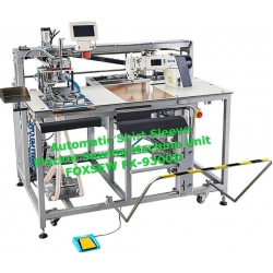 Automatic Shirt Sleeve Placket Setter
