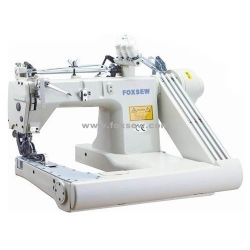 Three Needle Feed-off-the-Arm Chain Stitch Sewing Machine