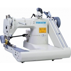 Double Needle Feed-off-the-Arm Sewing Machine (with External Puller)