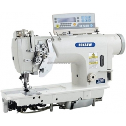 Computerized Automatic Thread Trimmer Double Needle Lockstitch Sewing Machine