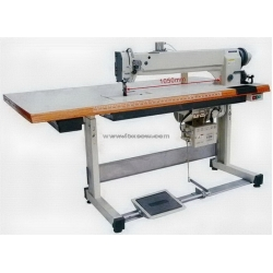 Double Needle Long Arm Compound Feed Heavy Duty Sewing Machine