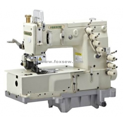 3-Needle Flat-bed Double Chain Stitch Machine for lap seaming