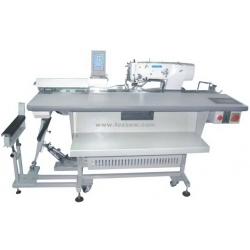 Automatic Feeding Electronic Straight Button Hole Machine