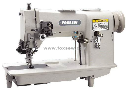 Double Needle Hemstitch Picoting Sewing Machine with Cutter