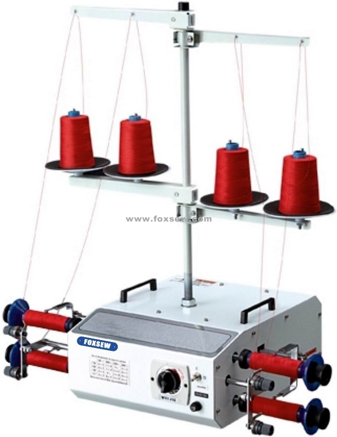 4-Cone Thread Winder Machine