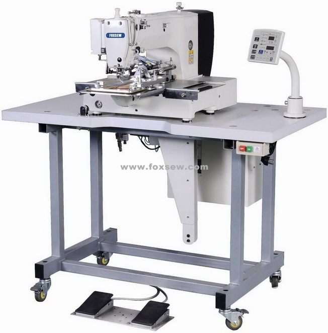 Automatic Label Attaching Pattern Sewing Machine