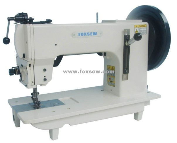 Flat Bed Triple Feed Extra Heavy Duty Lockstitch Sewing Machine
