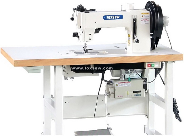 Extra Heavy Duty Compound Feed Walking Foot Lockstitch Sewing Machine
