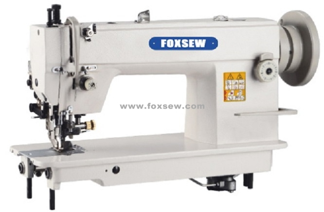 Top and Bottom Feed Heavy Duty Lockstitch Sewing Machine with Side Cutter