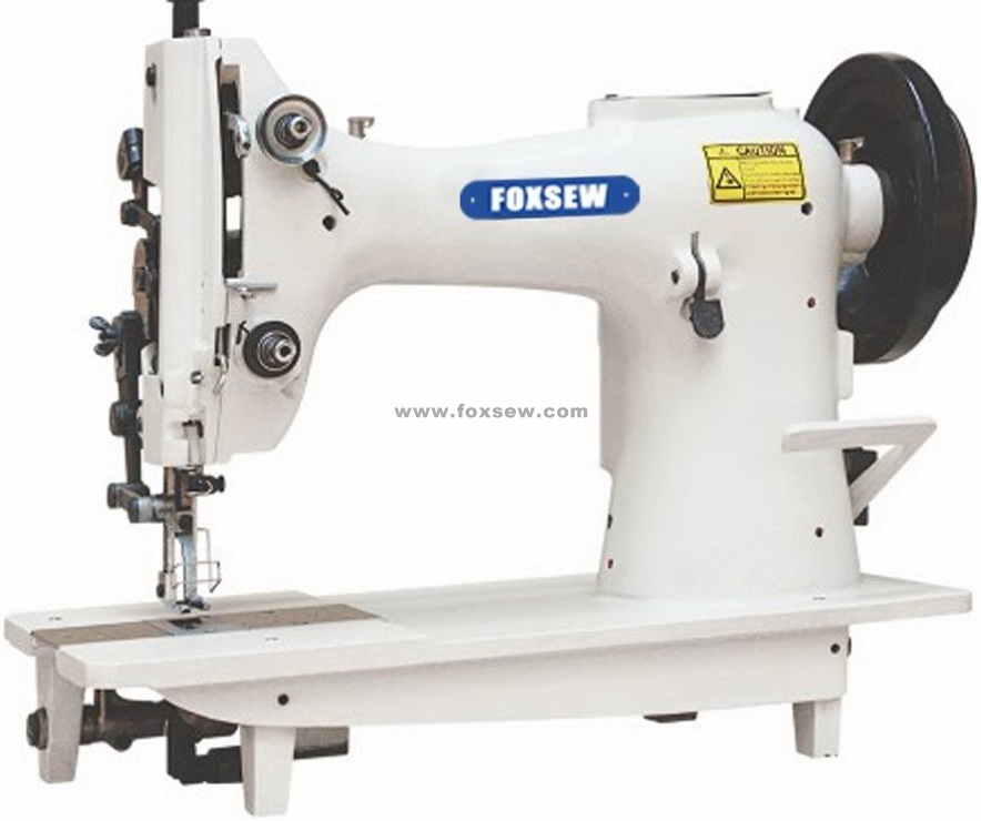 Single Needle Top and Bottom Feed Lockstitch Moccasin Machine for Extra Heavy Duty