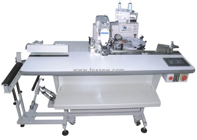 Automatic Feeding Button Attaching Sewing Machine