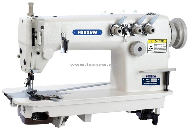 Three Needle Chain Stitch Sewing Machine