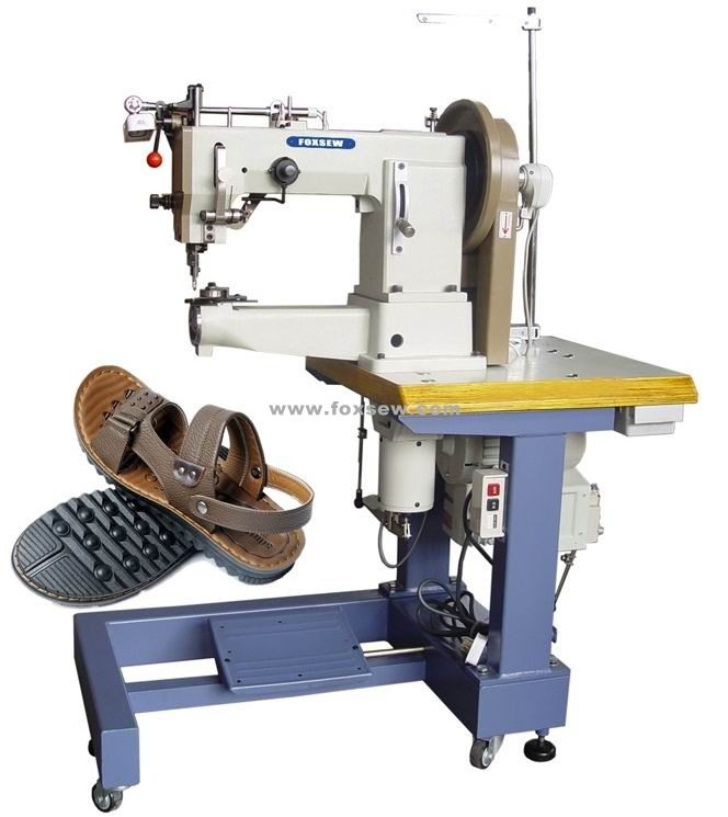 Cylinder Bed Shoes Sole Border Stitching Machine