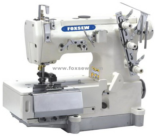 Flatbed Interlock Sewing Machine for Belt Loop Making