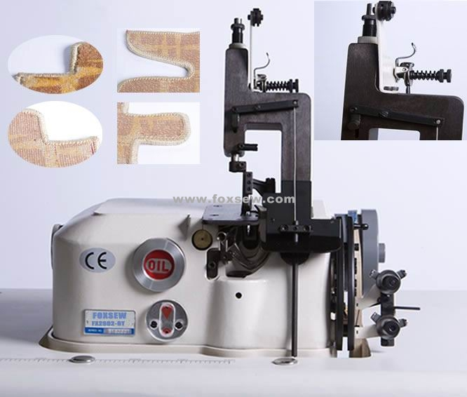 2 Thread Carpet Overedging Sewing Machine (for Car Mats)