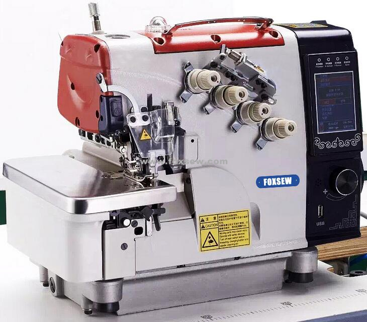 Smart Computer Intelligent Automatic Overlock Sewing Machine