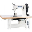 Heavy Duty Triple Feed Post Bed Sewing Machine Thick Thread Ornamental for Leather Upholstery