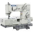 Flatbed Double Chainstitch Picoting Sewing Machine