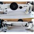 Long Arm Extra Heavy Duty Triple Feed Thick Thread Lockstitch Sewing Machine
