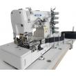 Flatbed Tape Binder Interlock Sewing Machine with Pneumatic Rear Tape Cutter