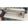 Long Arm Double Needle Compound Feed Lockstitch Machine with Automatic Thread Trimmer