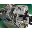 Automatic Webbing Cutting Machine Hot Knife with Hole Puncher and Collecting Device