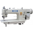 Computer Direct Drive Top and Bottom Feed Heavy Duty Lockstitch Sewing Machine with Auto-Trimmer