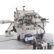 Automatic Small Cylinder Bed Overlock Sewing Machine for Neck Rib Attaching